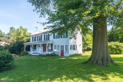 Readington Twp. Single Family Home For Sale: 444 Main St