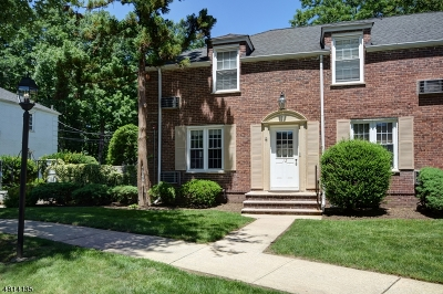 Cranford Twp. Condo/Townhouse For Sale: 12a Parkway Vlg