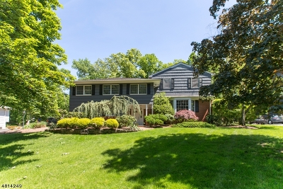West Caldwell Twp. Single Family Home For Sale: 7 Fairmount Rd