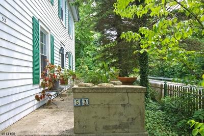 Frenchtown Boro Single Family Home For Sale: 53 Trenton Ave