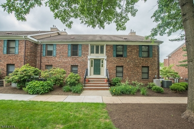 Long Hill Twp Condo/Townhouse For Sale: 15 Sunrise Dr