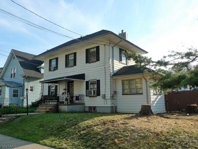 Hillside Twp. Single Family Home For Sale: 1286 Oakwood Ave