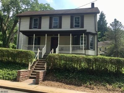 Glen Gardner Boro, Hampton Boro Single Family Home For Sale: 105 Main St