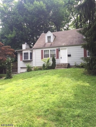 Scotch Plains Twp. Single Family Home For Sale: 2335 Longfellow Ave