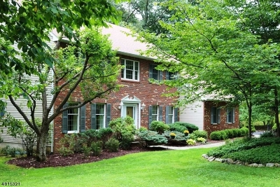 Sparta Twp. Single Family Home For Sale: 43 Waters Edge