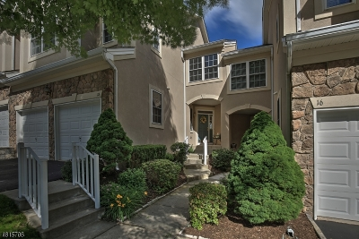 Denville Twp. Condo/Townhouse For Sale: 18 Henning Terrace