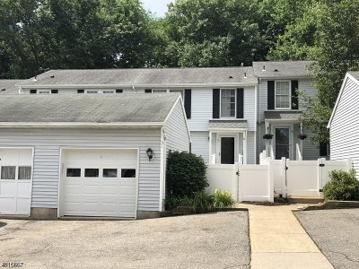 Somerset County, Morris County Condo/Townhouse For Sale: 400-31 E Randolph Ave