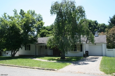 Peapack Gladstone Boro NJ Single Family Home For Sale: $439,000