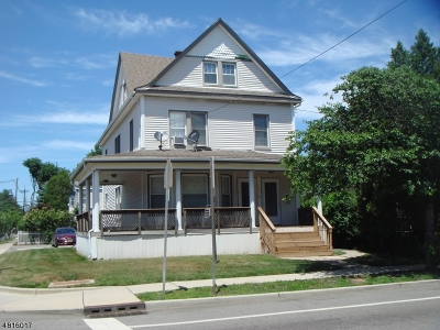 Passaic County Multi Family Home For Sale: 458 Clifton Ave
