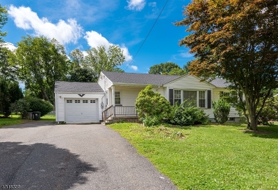 Mount Olive Twp. Single Family Home Active Under Contract: 15 Hillside Ave