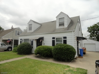 Edison Twp. Single Family Home For Sale: 208 Plainfield Ave