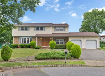 Piscataway Twp. Single Family Home For Sale: 71 Coventry Cir