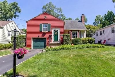 Fanwood Boro Single Family Home For Sale: 156 Marian Ave