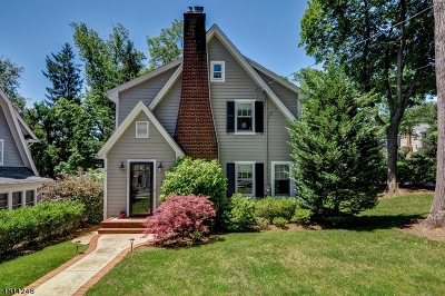 Millburn Twp. Single Family Home For Sale: 34 Berkeley Rd