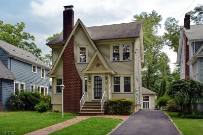Cranford Twp. Single Family Home For Sale: 345 S Union Ave