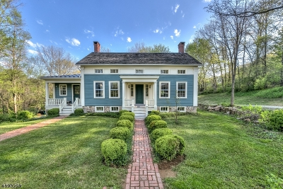 Tewksbury Twp. Single Family Home For Sale: 183 Old Turnpike Rd