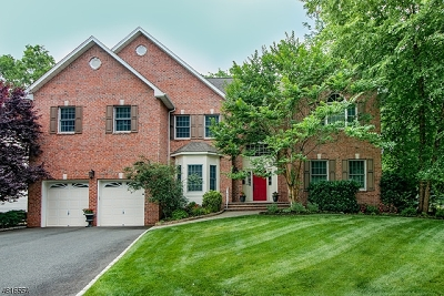 Westfield Town NJ Single Family Home For Sale: $1,200,000