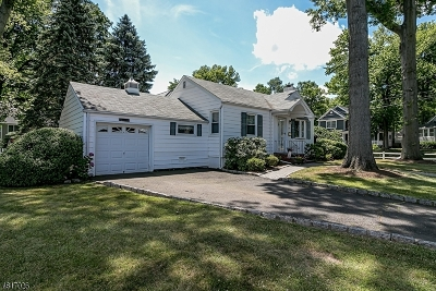 Westfield Town NJ Single Family Home For Sale: $455,000