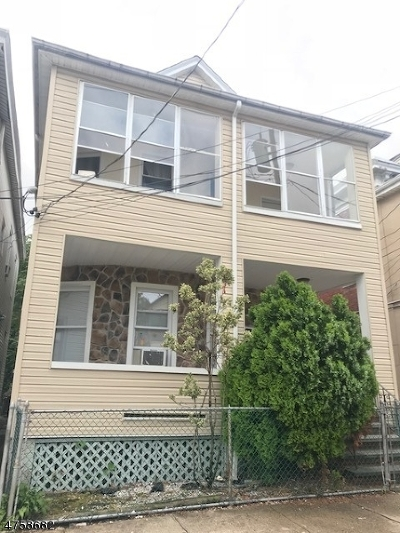 Passaic City Multi Family Home For Sale: 39 Quincy St
