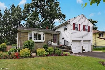 Cranford Twp. Single Family Home For Sale: 15 Brown Ter
