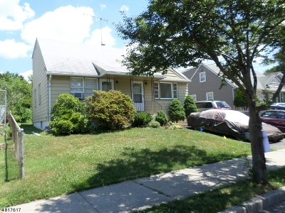 Clifton City Single Family Home For Sale: 34 Rowland Ave