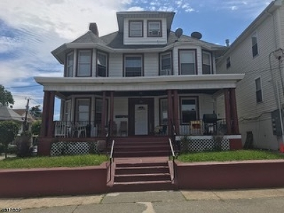 Paterson City Multi Family Home For Sale: 710-712 14th Ave
