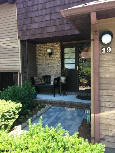 Parsippany-Troy Hills Twp. Condo/Townhouse For Sale: 19 Heritage Ct