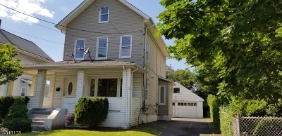 Passaic City Single Family Home For Sale: 336 Harrison St
