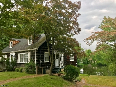Parsippany-Troy Hills Twp. Single Family Home For Sale: 7 Maple Ln