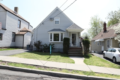 Passaic City Single Family Home For Sale