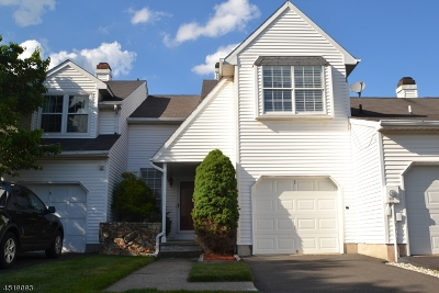 Branchburg Twp. Condo/Townhouse For Sale: 3 Spokane Ln
