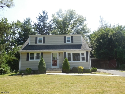 Branchburg Twp. Single Family Home For Sale: 553 Old York Rd