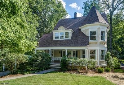 Millburn Twp. Single Family Home For Sale: 80 Linden St