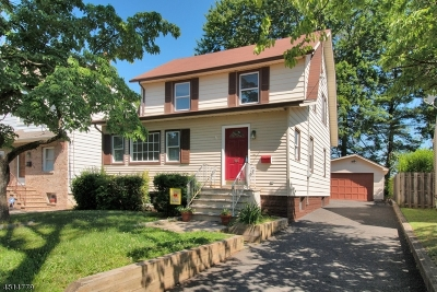 Union Twp. Single Family Home For Sale: 458 Burroughs Ter