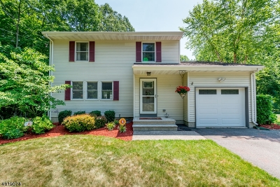 Montville Twp. NJ Single Family Home For Sale: $449,000
