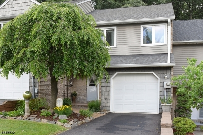Parsippany-Troy Hills Twp. Condo/Townhouse For Sale: 63 Continental Rd