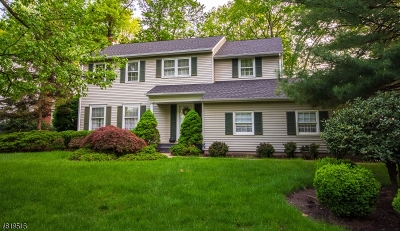 Florham Park Boro Single Family Home For Sale: 55 Sherbrooke Dr