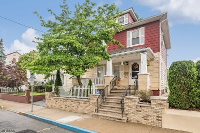 Paterson City Single Family Home For Sale: 270 Preakness Ave