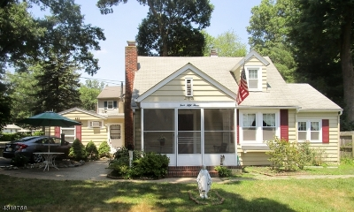 Parsippany-Troy Hills Twp. Single Family Home For Sale: 453 Allentown Rd