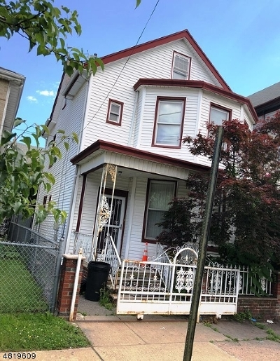 Paterson City Single Family Home For Sale: 315 15th Ave