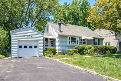 Cranford Twp. Single Family Home For Sale: 336 Dorchester Ave