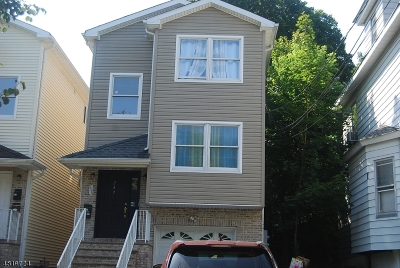 Passaic City Multi Family Home For Sale: 247 Burgess Pl