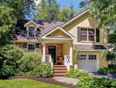 Chatham Boro Single Family Home For Sale: 60 Tallmadge Ave