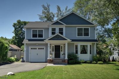 Fanwood Boro Single Family Home For Sale: 41 Farley Ave