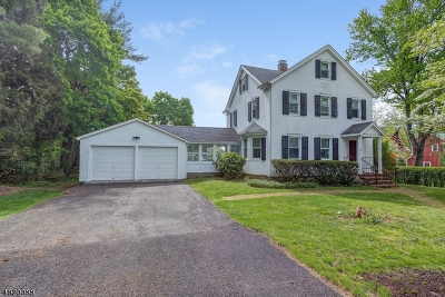 Bernardsville Boro Single Family Home For Sale: 33 Highview Ave
