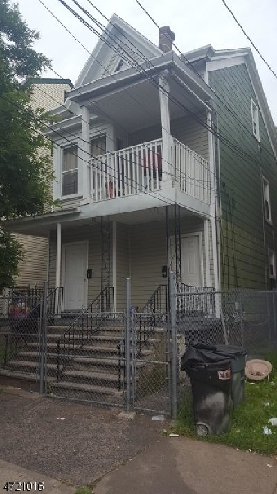 Paterson City Multi Family Home For Sale: 265 Hamilton Ave