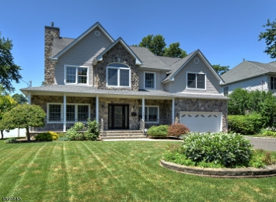 Westfield Town NJ Single Family Home For Sale: $945,000