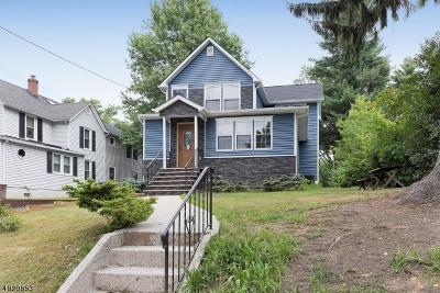 Fanwood Boro Single Family Home For Sale: 341 Terrill Rd