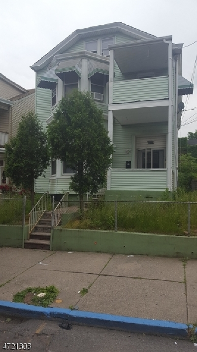Paterson City Multi Family Home For Sale: 270-272 Hamilton Ave