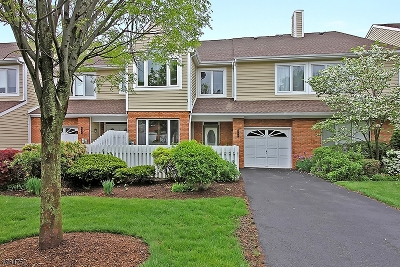 Bedminster Twp. NJ Condo/Townhouse For Sale: $529,000